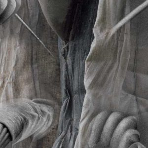 Image promotionnelle de l'exposition « Le béton sous toutes ses coutures, les expérimentations architecturales de Mark West ».